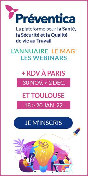 Salon Preventica Paris du 30 novembre au 2 décembre 2021
